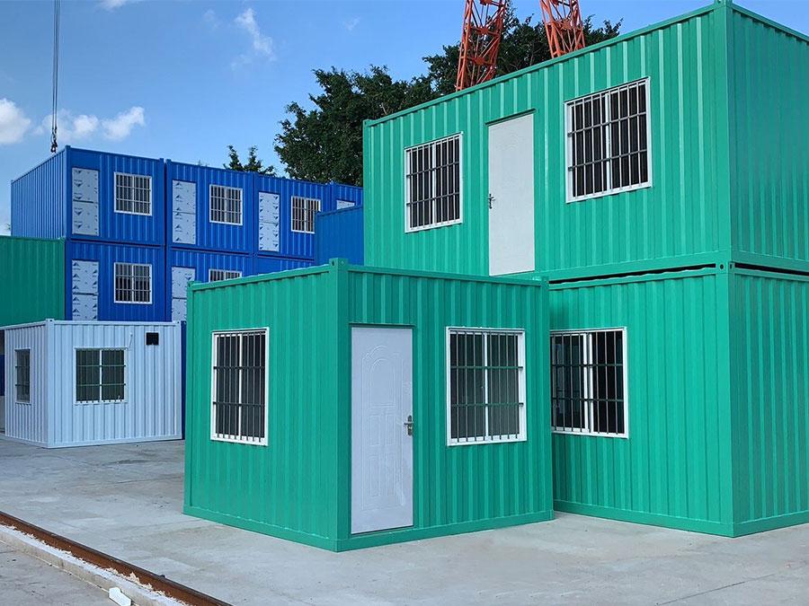 集装箱建筑可以用于不同用途